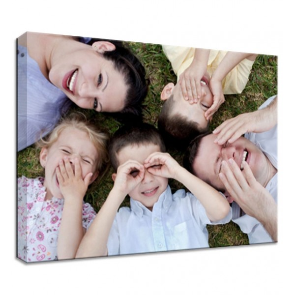 """38mm DEEP Frame Personalised 20/"""" X 20/"""" Square Canvas Print Your Picture Photo"""